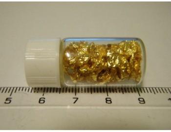 Zlato 24 kar. v lahvičce