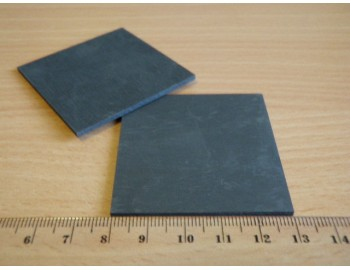 Uhlíková elektroda - plochá
